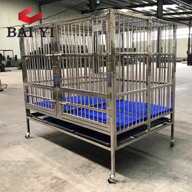 Large Stainless Steel Dog Cages For Sale