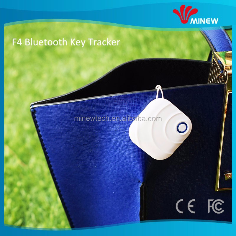 beautiful and good quality plastic shell Minew phone finder with key finder app