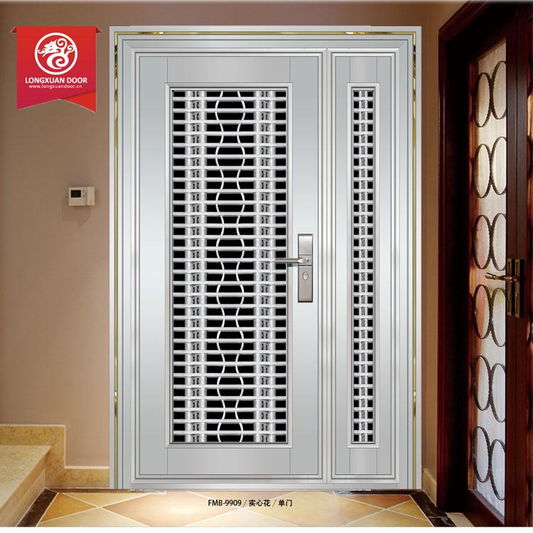 Main Gate Front Door Stainless Steel Security Door Design Buy Steel Security Door Exterier