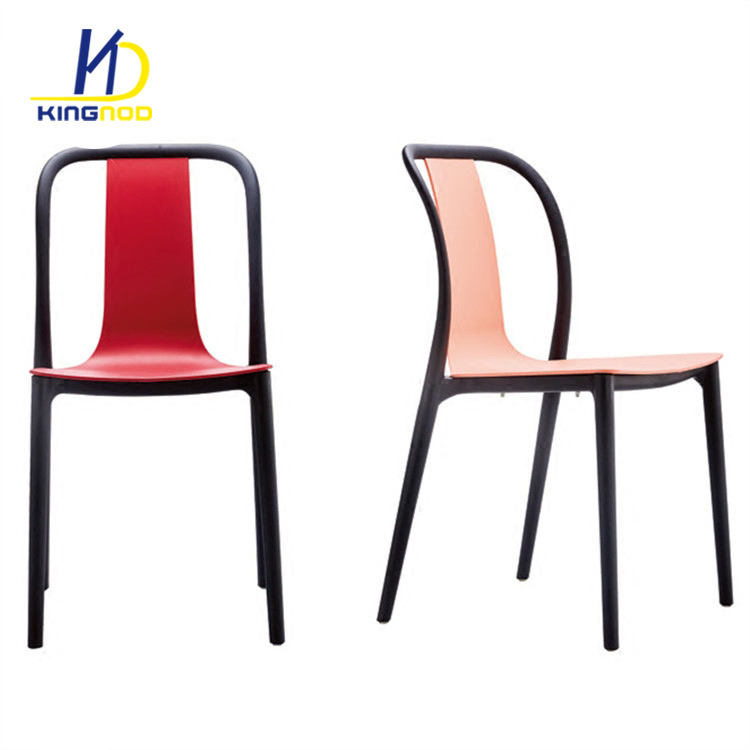 Modern White Stackable Cafe Home Furniture Dining Room PP Plastic Chair