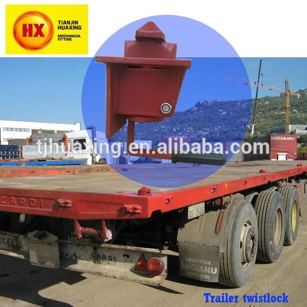 Twist lock de conteneurs maritimes camion remorque for Fabricant conteneur