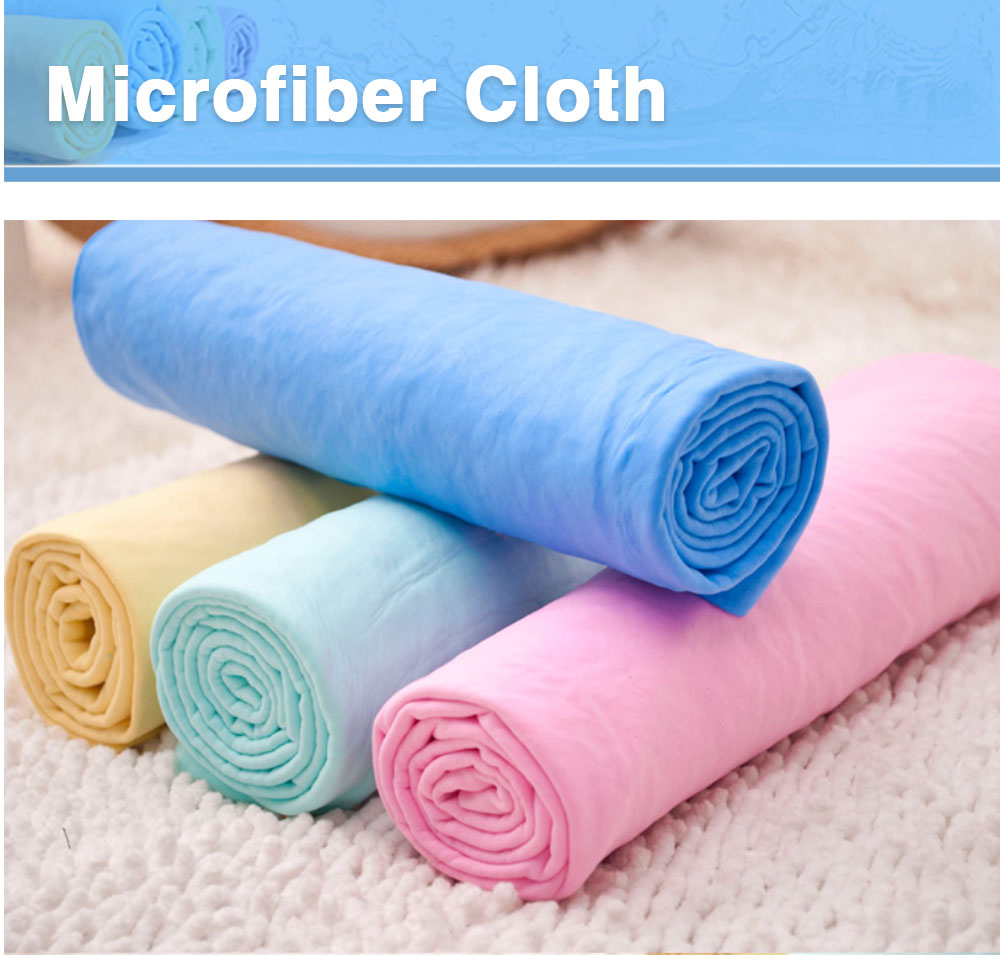 drying hair sports absorber mop face peau de car wash towel fabric plas cleaning synthetic leather cloth pva chamois