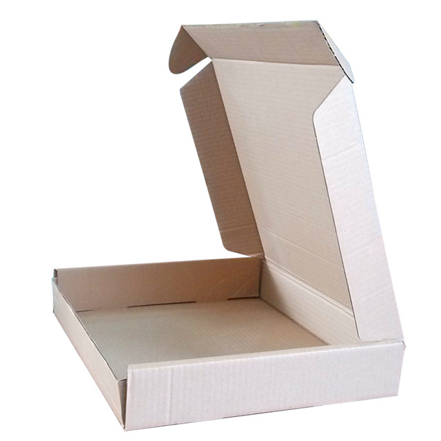 High quality Recycled Brown Kraft Paper corrugated carton shipping packaging box custom mailer box