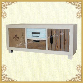 Vintage Shabby Chic Stil Möbel Home Tv Schrank - Buy Product on ...