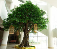 Large artificial decorative banyan tree ficus tree price for indoor and outdoor
