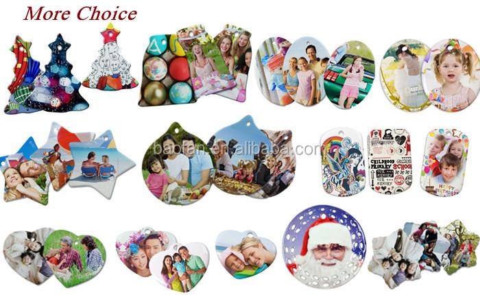 Blank Sublimation Ceramic Ornaments Star Shap Ceramic Pendants For  Christmas - Buy Christmas Star Ceramic Decoration,Ceramic Decoration Blank