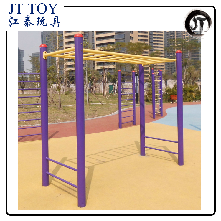 Gym workout exercise machine JT17-7702 outdoor pull up bar fitness equipment
