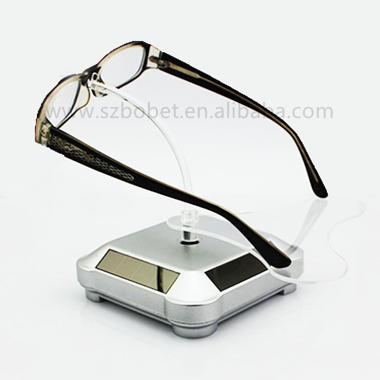 Customer eyewear display high quality solar rotating acrylic sunglasses display holder/<strong>stand</strong>/rack for sale