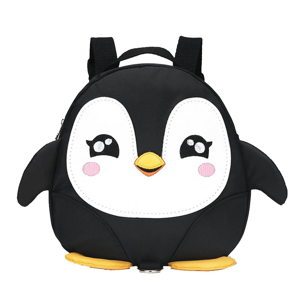 Get Quotations · 2017 New Style Cute Cartoon Penguin Mini Backpacks with  Safety nylon tape for 1-3 acfc666bc4a2e