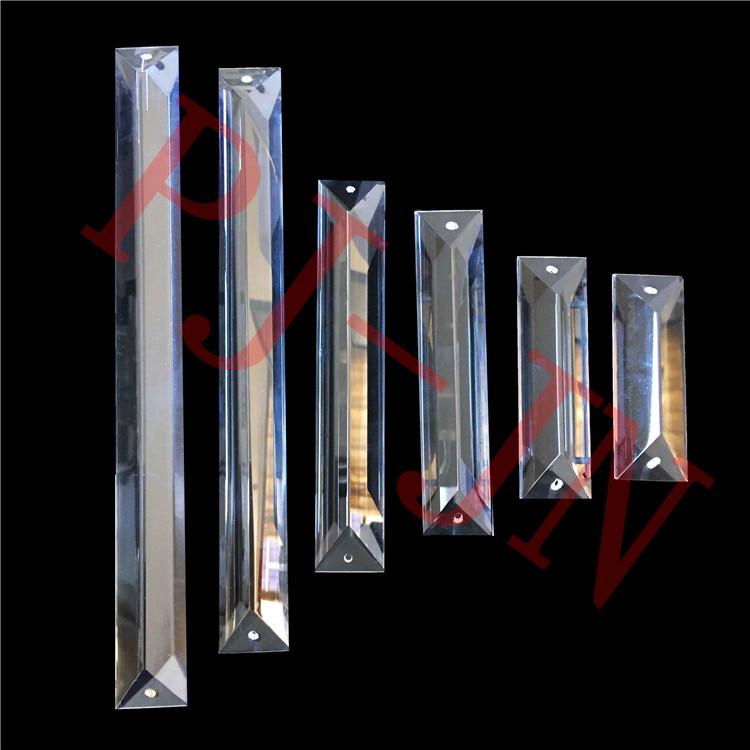 Nuovo arriva 76 millimetri posteriore lungo di cristallo a goccia pendenti lampada lampadario in vetro di ricambio per la casa/lampadario di nozze
