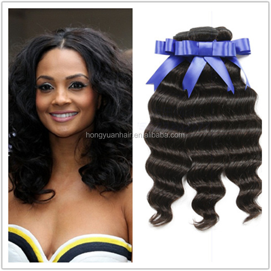 2015 hot top grade fashionable style unprocessed human hair virgin loose wave indian hair