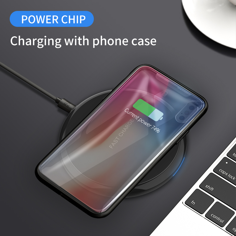 Hot sale universal Qi 10w wireless charging charger pad for iphone samsung xiaomi huawei