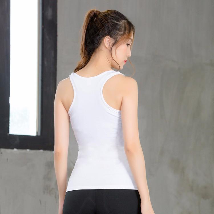 Women Summer Fitness Polyester Training Sport wear,Quick Dry Women Sexy Sport Yoga Vest Wholesale 3
