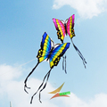 free shipping high quality lober butterfly kite 2pcs lot with hand line hcxkites factory easy contrl