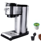 1.5L stainless steel housing 4 cup electrical coffee maker LFGB certification