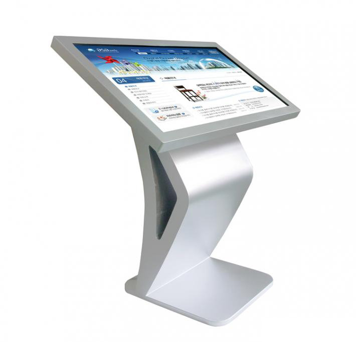 42 inch LCD touch screen all-in-one pc kiosk