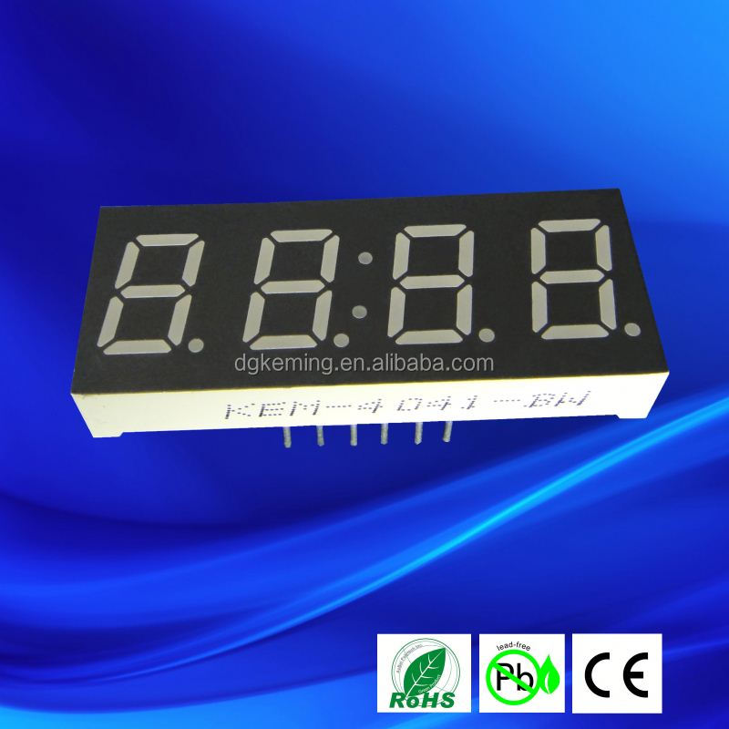 Ultra Red 0.4041inch 4 Digits Led Graphic Equalizer