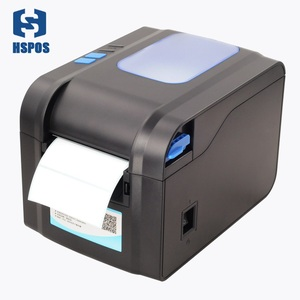 80mm thermal label printer machine supermarket barcode stickers roll label printer
