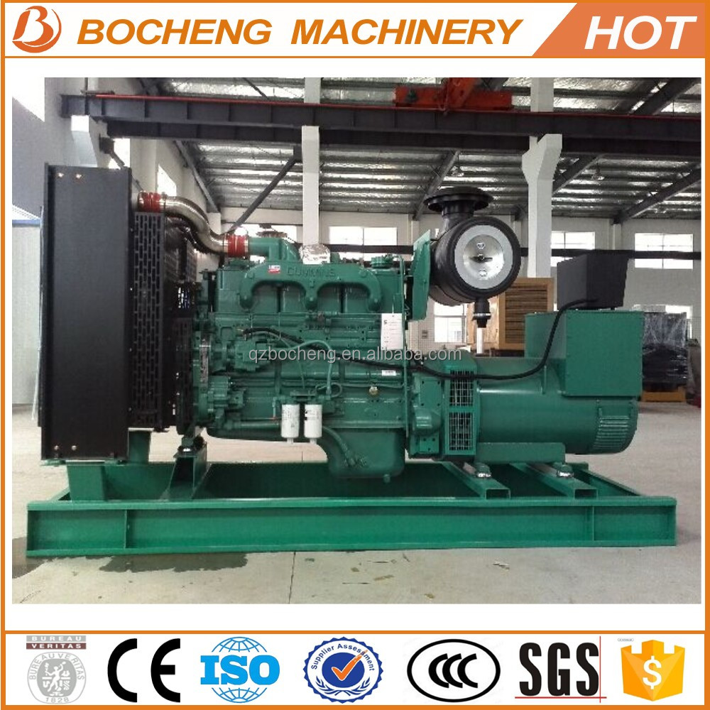 CE Approved Large Size Electric Motor Brushless Biogas Generation 400/500 KW