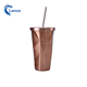 Popular newly hot selling for USA market custom tumbler with irregular body with SS straw