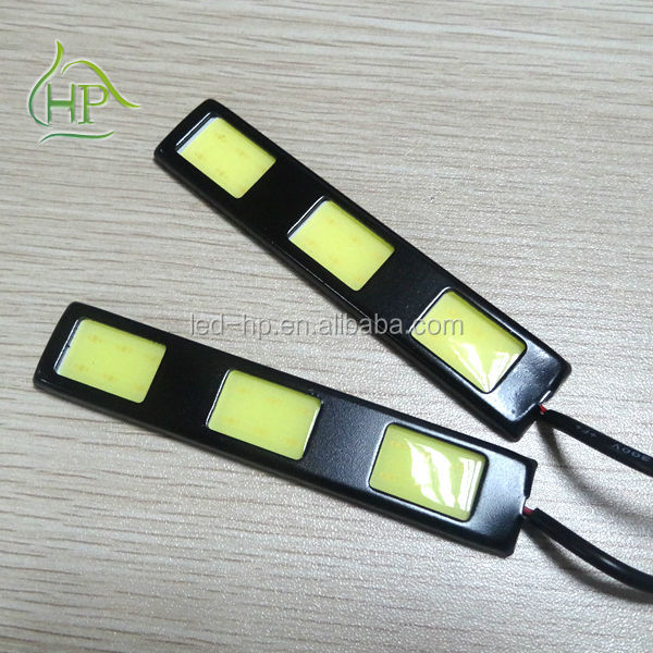Different size cob led drl daytime running light for honda jazz(CE &RoHS)