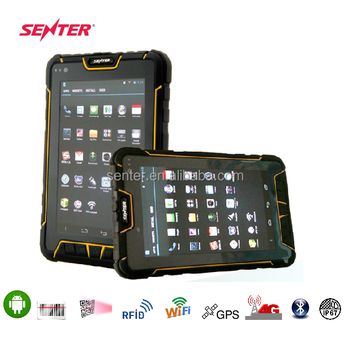 7 Inch Rugged Tablet Pc Barcode Scanner Waterproof Ip67 With Android Os Fingerprint Uhf Rfid Reader