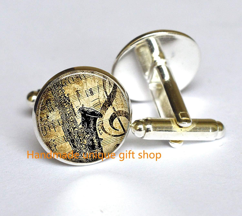 saxophone Bracelet music teacher gift Modern Fashion Bracelet,Beautiful Bracelet saxophone Bracelets music student gift-RC247 Saxophone /& Music Bracelet