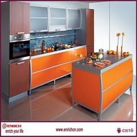 unassembled in stock wooden kitchen cabinet