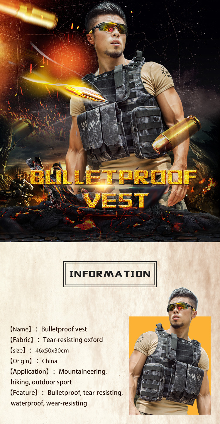 Fashion IV Level 4 Security Guard Life Bulletproof Clothing Soft Armor Carbon Fiber Bullet Proof Vest