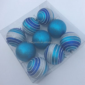 hot sale christmas or party decorative outdoor christmas balls christmas decoration