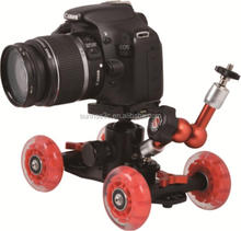 Alba Professionale In Alluminio Da Tavolo Mini Video Macchina Fotografica Dolly Track <span class=keywords><strong>Slider</strong></span> con 4 Ruote