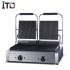 ASQ 813 High quality Stainless Steel Sandwich Panini Grill/Press Griddle Panini Grill/Electric Grill Sandwich