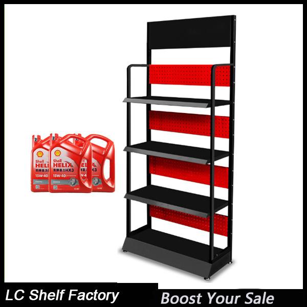 High Quality Luxury Metal Car Motor Lube Oil Display Rack