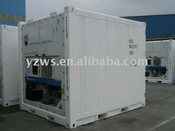 refrigerating container body