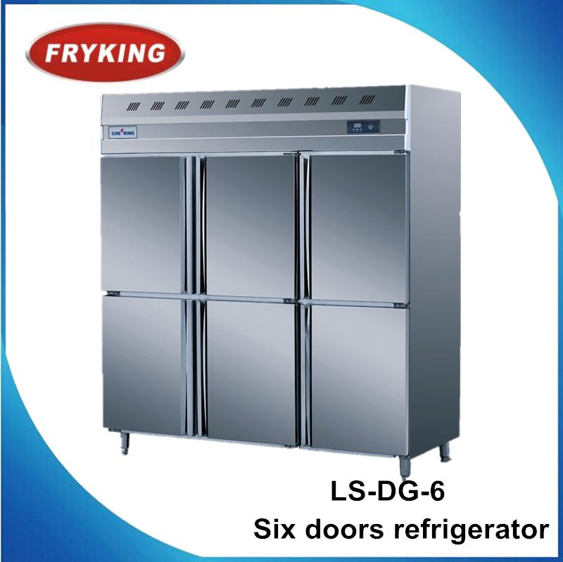 Equipo de restauraci n 6 puertas de cocina refrigerador for Puertas de cocina de restaurante