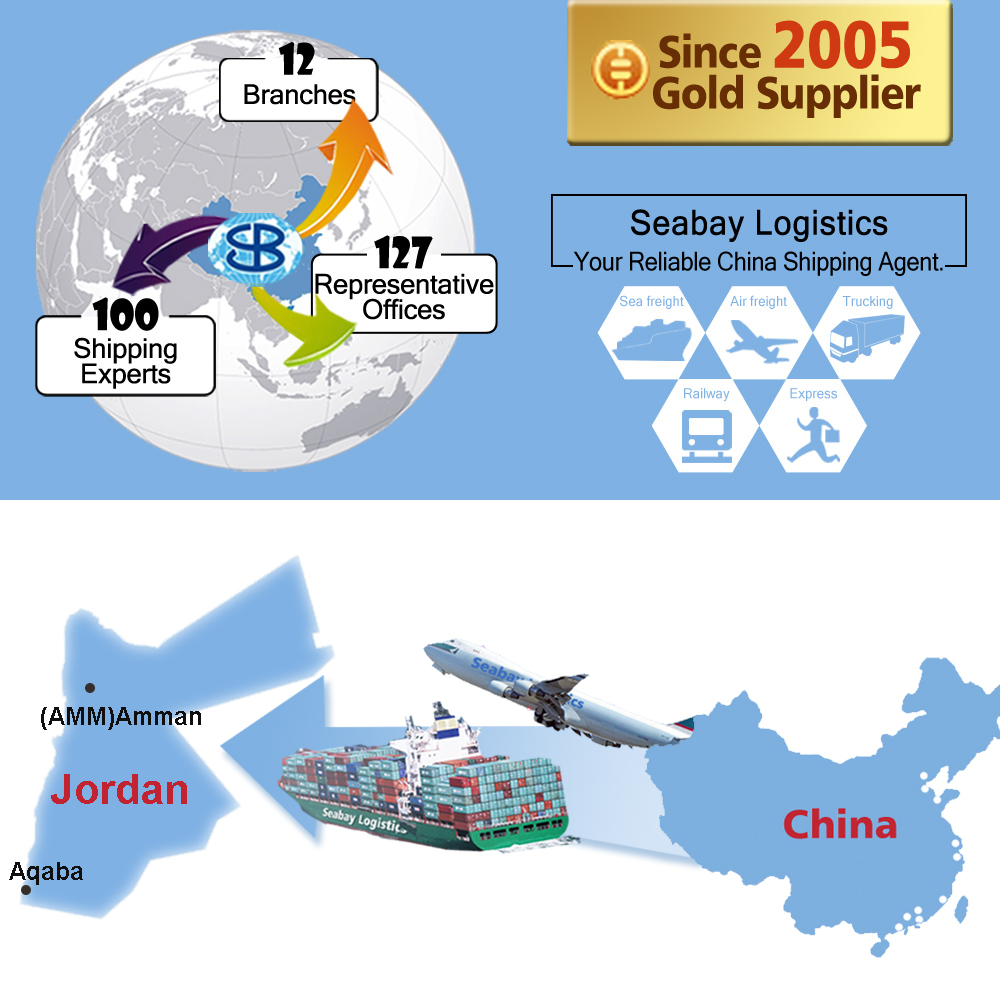 Best freight forwarder shipping company service from china to amman aqaba jordan
