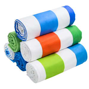 Microfibre 80% polyester 20% nylon fabric Digital Printing Beach Towel elastic