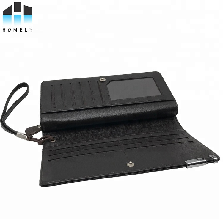 wholesale men's high quality pu leather card holder <strong>wallet</strong> for men <strong>wallet</strong> phone case