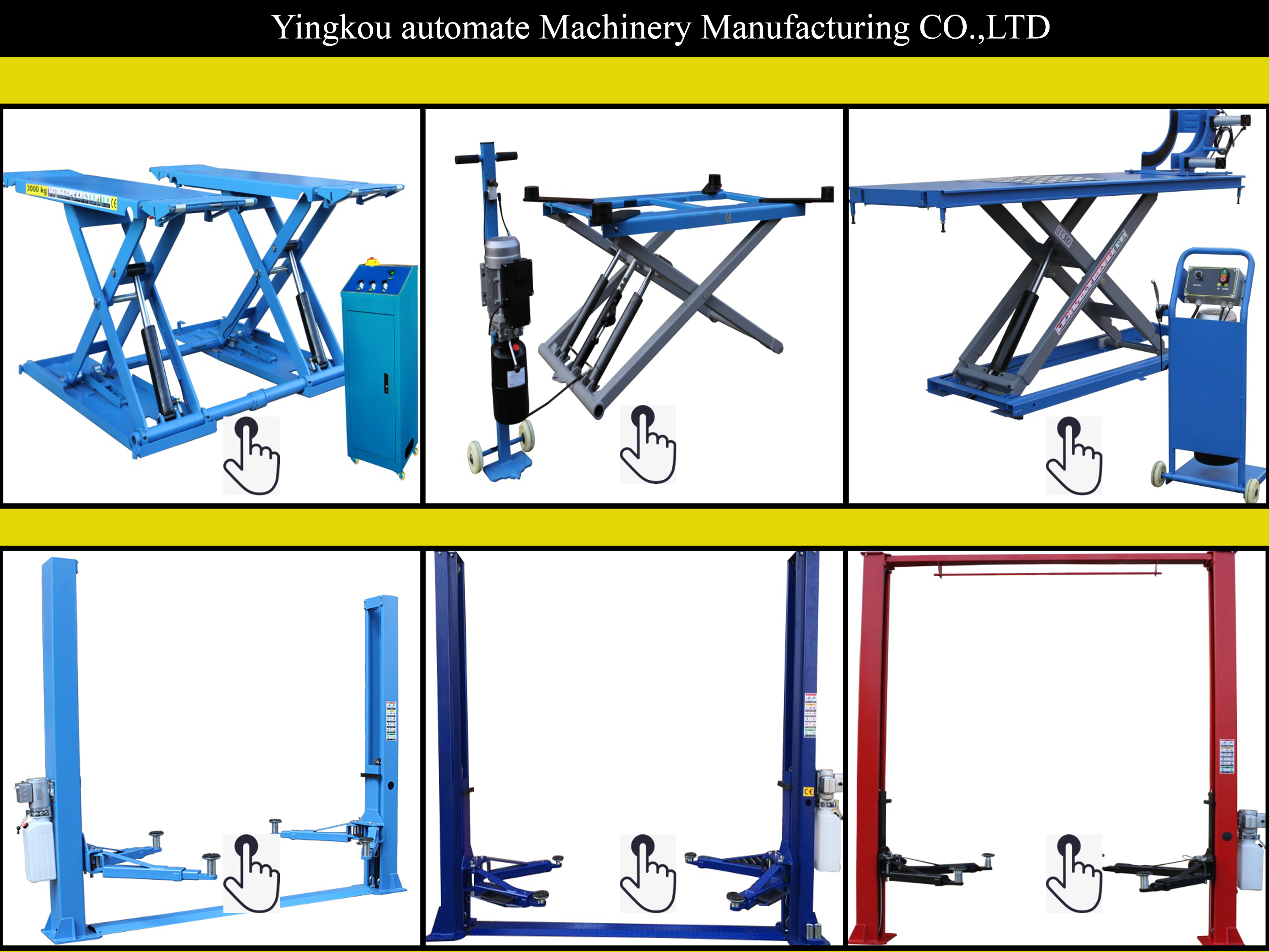 MT hydraulic cheap 2 post car lift two post car lift
