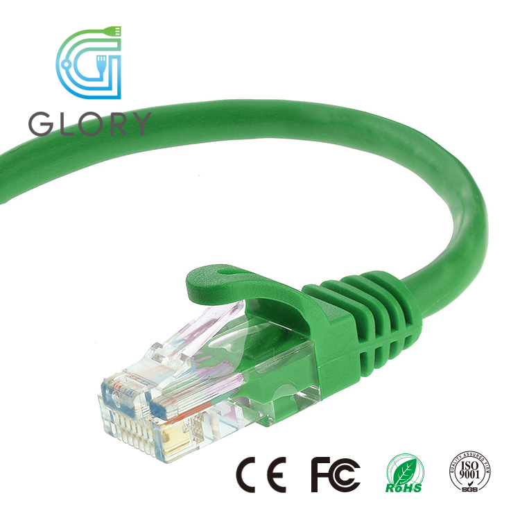 Glory Jumper Cable 2m Cat6 Lan UTP Ethernet Cable wholesale Cat6 Patch Cords