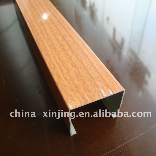 Wood surface aluminum ceiling (ISO9001)