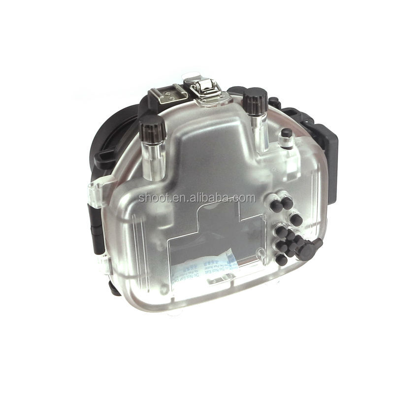Factory Underwater 40M Camera waterproof Case for Olympus OMD EM5 12-50mm Lens