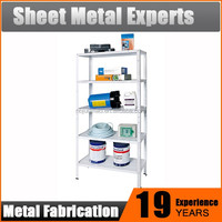boltless 6 tiers light duty metal shelf/multi tier wire mesh steel shelf/high quality tool display shelf 99
