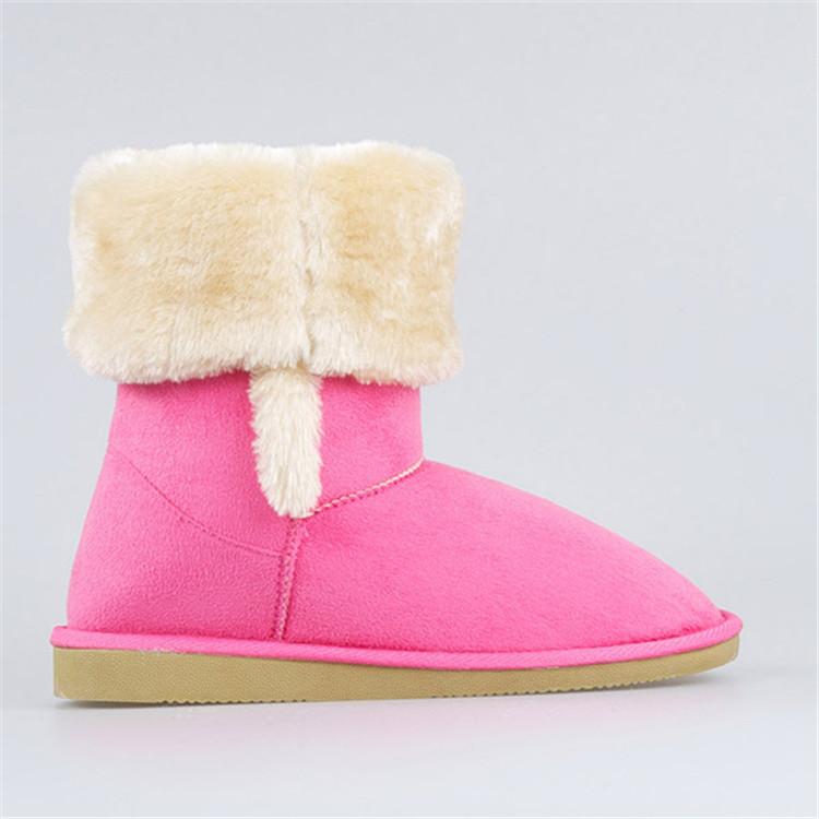 Snow Woman Boot Sexy Women Half Snow Boots Girl And Animals Sex ...