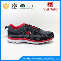 2017 Hot sell knitted lightweight outdoor casual shoes men sport running