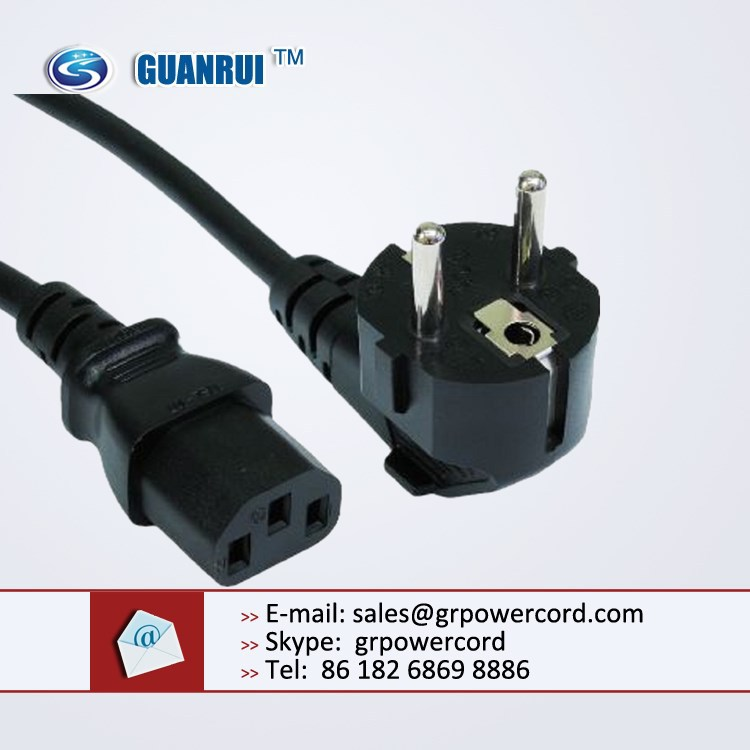 power plug europe, power cable europe, french plug