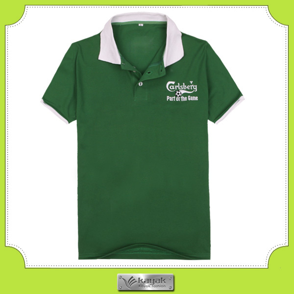 Customized sponsor promotional polo shirt for beer buy for Sponsor t shirt design