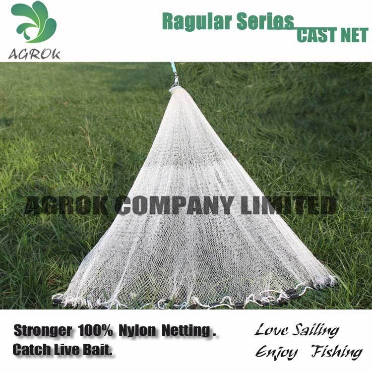 Fishing nets of Regular series ,American Style Multifilament Cast Net (Drawstring)