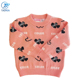 Wholesale Woolen Baby Girls O-neck Sweater Computer Knitted Pattern Pullover Girls Sweater Long Sweater For Kids