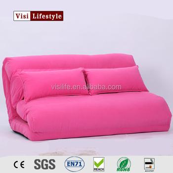 Visi Modern Foldable Reclining Floor Sofa Bed Living Room Furniture ...